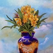 Colorful Vase Flower