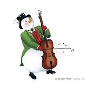 Musical Snowmen Cello