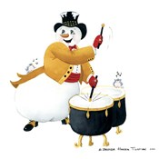 Musical Snowmen Drums
