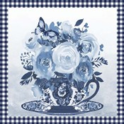 Blue Teacup Bouquet C