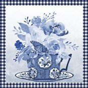 Blue Teacup Bouquet F