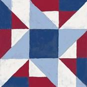 Americana Patchwork Tile I