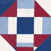 Americana Patchwork Tile II