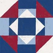 Americana Patchwork Tile III