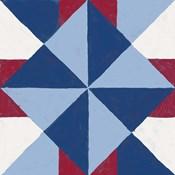 Americana Patchwork Tile IV