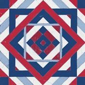 Americana Quilt Motif IV