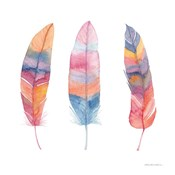 Boho Feathers I
