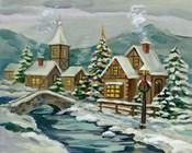 Twilight Christmas Village