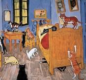 Van Gogh Arles Cat