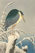 Heron in Snow, 1920-1930
