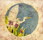 Great Egret - Batik