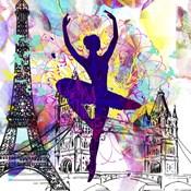 London Ballerina Silhouette 1