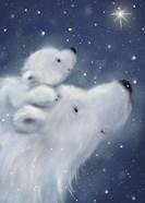 Polar Bear And Cub 2