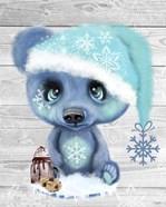 Winter Cocoa Bear