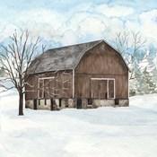 Winter Barn Quilt I