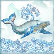 Boho Shells II-Whale