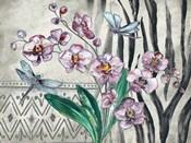 Boho Orchid landscape