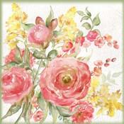 Romantic Watercolor Floral Bouquet