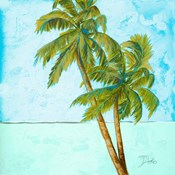 Beach Palm Blue I