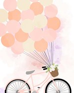 Bike Ride With Balloons