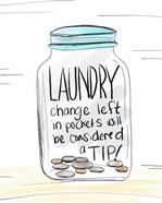 Laundry Tip Jar