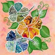 Hibiscus Bouquet Collage