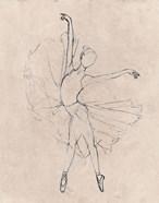 Monochrome Ballerina