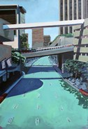 Overpass on Teal