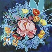 Peony Bouquet Mandala