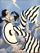 1933 French Art Deco Fashion Art