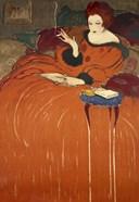 Art Nouveau Smoking Woman 1919
