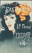 Vintage Spanish Fashion Ad 1920