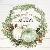 Gather and Give Thanks Wreath