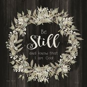 Be Still and Know Wreath