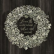Leave the World Behind Wreath