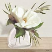 Vintage Magnolia Bloom