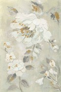 Romantic Spring Flowers II White