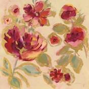 Gilded Loose Floral I
