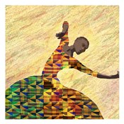 Kente Dancer 1