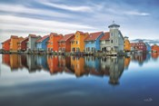 Reitdiephaven Reflections