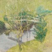 John Henry Twachtman - The White Bridge