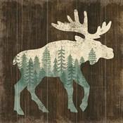 Simple Living Moose Silhouette