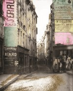 French Street with Gold