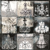 Chandelier Collage