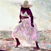 Her Colorful Dance II