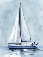 Lone Sailboat I