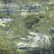 Encaustic Tile in Green II