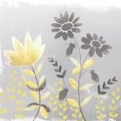 Soft Nature Yellow & Grey I