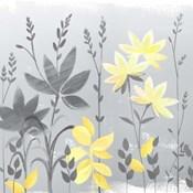 Soft Nature Yellow & Grey II
