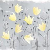 Soft Nature Yellow & Grey III